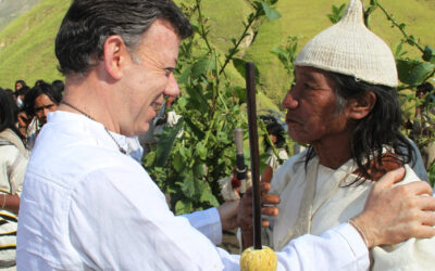 Colombia's former president says COVID-19 shows the importance of listening to indigenous peoples on how we treat the planet